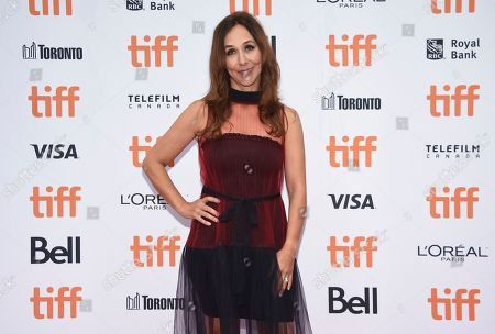 """Gabriela Cowperthwaite attends the premiere for """"The Friend"""" on day two of the Toronto International Film Festival at the Princess of Wales Theatre, in Toronto"""