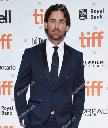"""Jake Owen attends the premiere for """"The Friend"""" on day two of the Toronto International Film Festival at the Princess of Wales Theatre, in Toronto"""