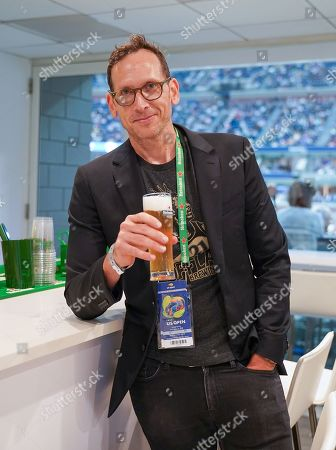 Stephen Kunken stops by the Heineken suite at the U.S. Open