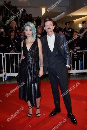 Fabio Rovazzi and Karen Rebecca Casiraghi