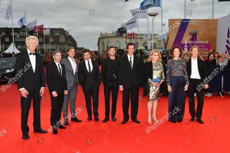 Jean-Pierre Jeunet, Gaël Morel, Orelsan, Nicolas Saada, Gaspard Ulliel, Antonin Baudry, Catherine Deneuve, Vicky Krieps and Claire Burger