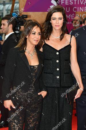 Alice Belaidi and Anna Mouglalis