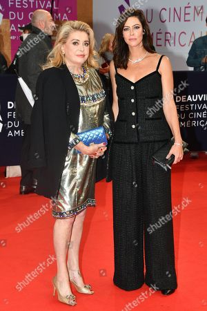 Catherine Deneuve and Anna Mouglalis