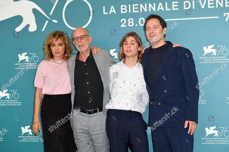 Gabriele Salvatores, Valeria Golino, Giulio Pranno and Claudio Santamaria