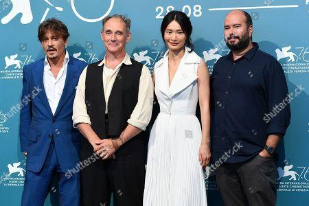 Johnny Depp, Mark Rylance, Gana Bayarsaikhan and Ciro Guerra