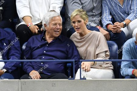 Robert Kraft and Ricki Lander