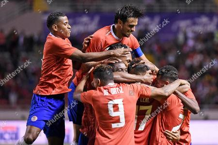 Editorial image of Uruguay Soccer, San Jose, Costa Rica - 06 Sep 2019
