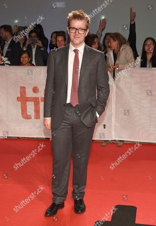 """Peter Gregson attends the premiere for """"Blackbird"""" on day two of the Toronto International Film Festival at the Roy Thomson Hall, in Toronto"""