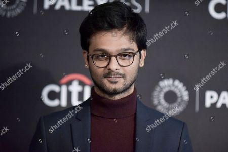 """Siddharth Dhananjay attends Amazon's """"Undone"""" screening and panel at the 2019 PaleyFest Fall TV Previews at The Paley Center for Media, in Beverly Hills, Calif"""