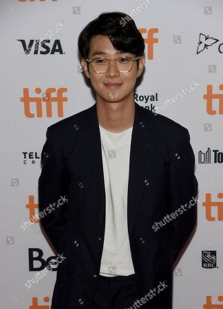 "Choi Woo-shik attends the premiere for ""Parasite"" on day two of the Toronto International Film Festival at the Ryerson Theatre, in Toronto"