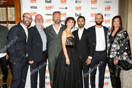 Olivia Cooke, Darius Marder, Riz Ahmed and Sound of Metal team.