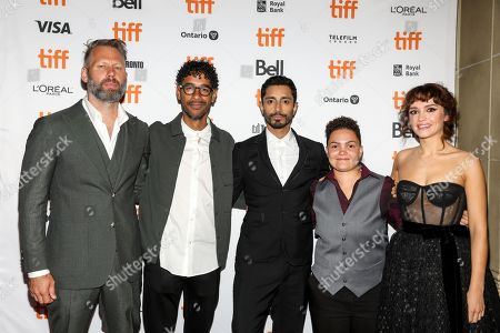 Darius Marder, Jeremy Lee Stone, Riz Ahmed, Chelsea Lee and Olivia Cooke