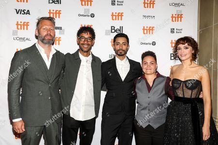 Darius Marder, Jeremy Lee Stone, Riz Ahmed, Chelsea Lee and Olivia Cooke