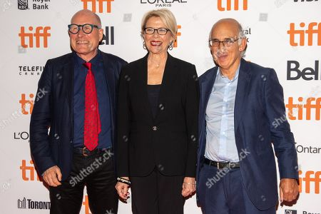 Stock Photo of Bill Nicholson, Annette Bening and David Thompson