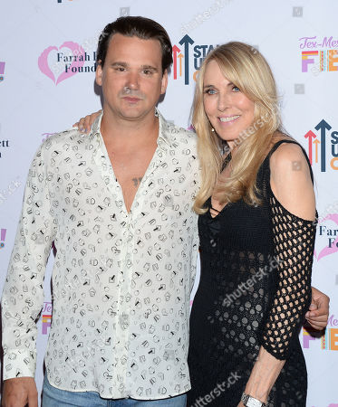 Alana Stewart and son Sean Stewart