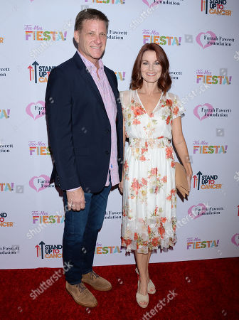 Stock Photo of Doug Savant and wife Laura Leighton