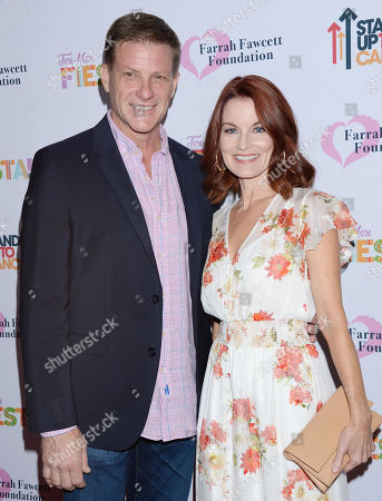 Stock Image of Doug Savant and wife Laura Leighton