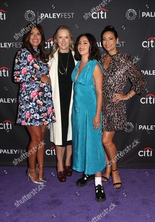 Angelique Cabral, Jennifer Salke, Rosa Salazar and Constance Marie
