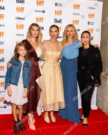 Stock Picture of Abigail Pniowsky, Sophie Nelisse, Jodi Balfour, Heather Graham and Aisling Chin-Yee