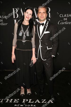 Jill Kargman and Harry Kargman