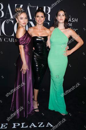 Delilah Hamlin, Lisa Rinna and Amelia Hamlin