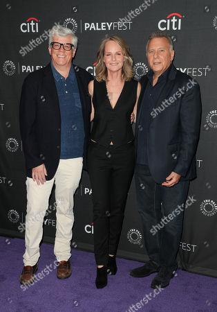 Peter Tolan, Helen Hunt and Paul Reiser