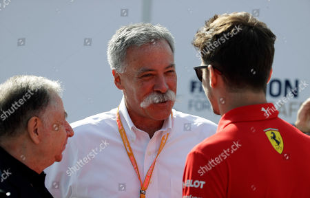 Editorial picture of F1 GP Auto Racing, Monza, Italy - 07 Sep 2019