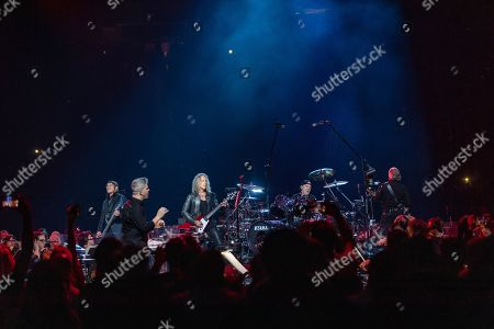 Stock Image of Metallica - Robert Trujillo, Kirk Hammett, Lars Ulrich, James Hetfield