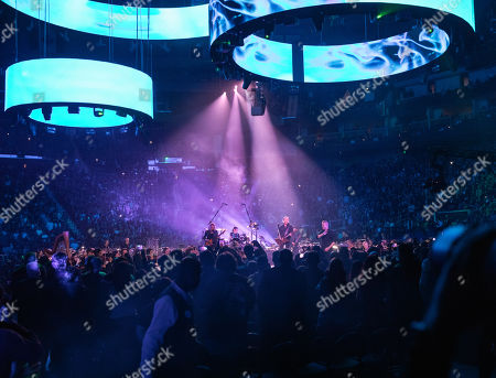 Editorial image of Metallica in concert with the San Francisco Symphony at Chase Center, San Francisco, USA - 06 Sep 2019