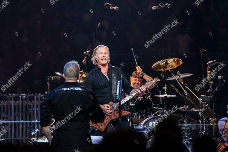 Stock Photo of Metallica - James Hetfield, Lars Ulrich