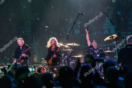 Editorial picture of Metallica in concert with the San Francisco Symphony at Chase Center, San Francisco, USA - 06 Sep 2019