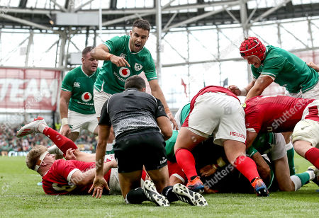 Editorial photo of Guinness Summer Series, Aviva Stadium, Dublin  - 07 Sep 2019