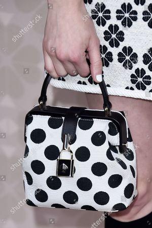 Emma Roberts, bag detail