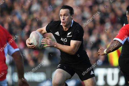 New Zealand All Blacks vs Tonga. New Zealand's Ben Smith