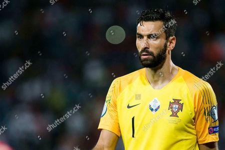 Goalkeeper Rui Patricio of Portugal