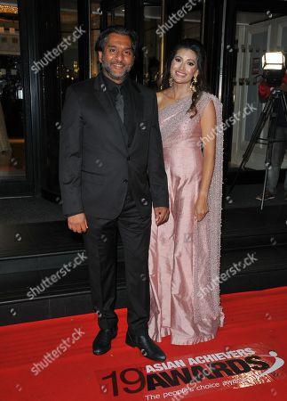 Nitin Ganatra and Nisha Parmar