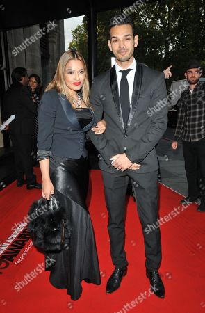 Stock Photo of Tasmin Lucia-Khan and Junaid Zaman
