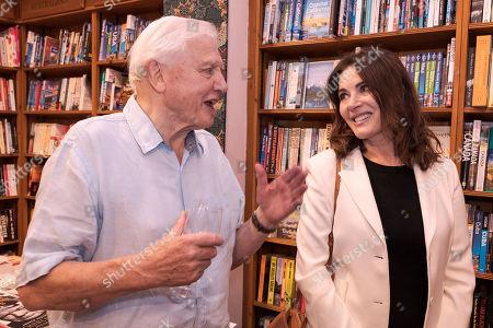 Sir David Attenborough and Nigella Lawson