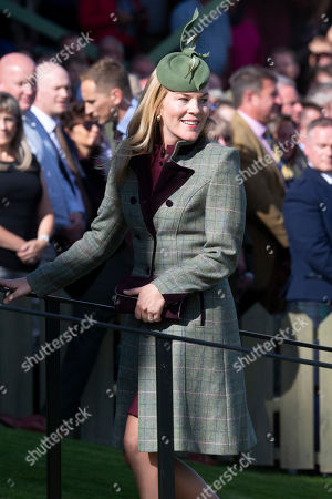 Autumn Phillips arrives at the Gathering.