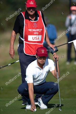 Editorial picture of Walker Cup Golf, Hoylake, United Kingdom - 07 Sep 2019