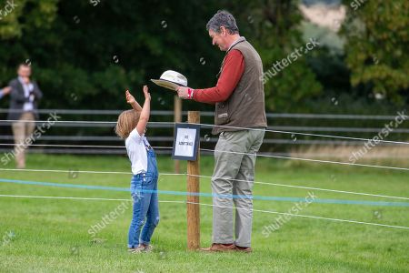 Tim Laurence and Mia Grace Tindall