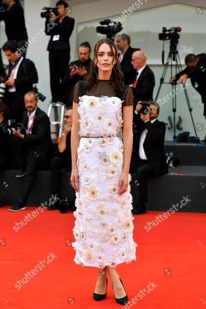 French actress, model and festival jury member Stacy Martin arrives for the awarding ceremony of the 76th annual Venice International Film Festival, in Venice, Italy, 07 September 2019. The festival runs from 28 August to 07 September.