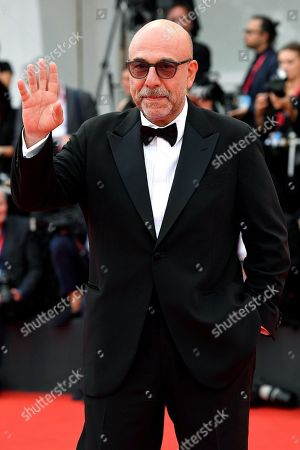 Italian director and festival jury member Paolo Virzi arrives for the awarding ceremony of the 76th annual Venice International Film Festival, in Venice, Italy, 07 September 2019. The festival runs from 28 August to 07 September.