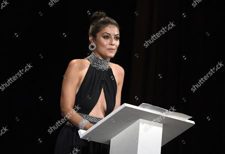 Alessandra Mastronardi on stage during the awarding ceremony of the 76th annual Venice International Film Festival, in Venice, Italy, 07 September 2019. The festival runs from 28 August to 07 September.