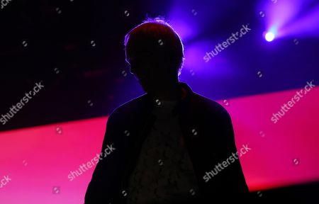 Stock Photo of Karl Hyde of British electronic music group Underworld performs at Lollapalooza Berlin 2019 at the Olympiastadion (Olympic stadium) in Berlin, Germany, 07 September 2019. The music festival runs from 07 to 08 September.