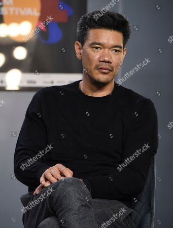 """Destin Daniel Cretton attends a press conference for """"Just Mercy"""" on day three of the Toronto International Film Festival at the TIFF Bell Lightbox, in Toronto"""