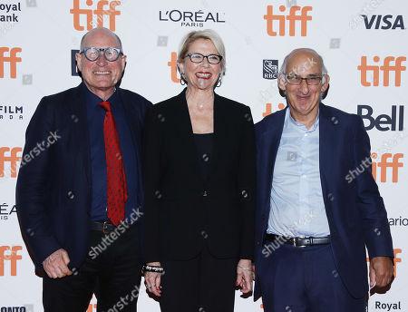 Bill Nicholson, Annette Bening and David Thompson