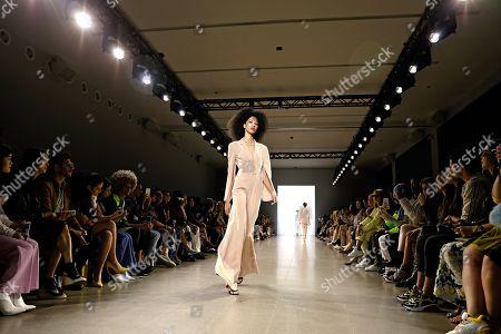 Editorial photo of Taoray Wang - Runway - New York Fashion Week Spring, USA - 07 Sep 2019