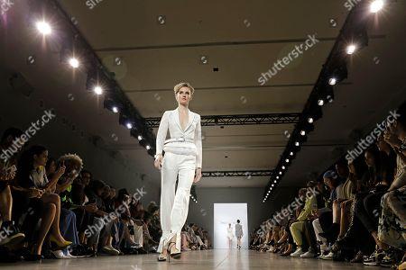 Editorial image of Taoray Wang - Runway - New York Fashion Week Spring, USA - 07 Sep 2019