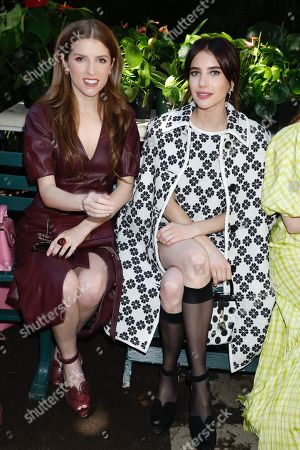 Editorial image of Kate Spade show, Front Row, Spring Summer 2020, New York Fashion Week, USA - 07 Sep 2019